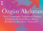 MSGSÜ Şehir ve Bölge Planlama Bölümü Çarşamba Seminerleri - Özgün Akduran 'Yerel Yönetimde Toplumsal Cinsiyet Eşitliğini Kurumsallaştırmak'
