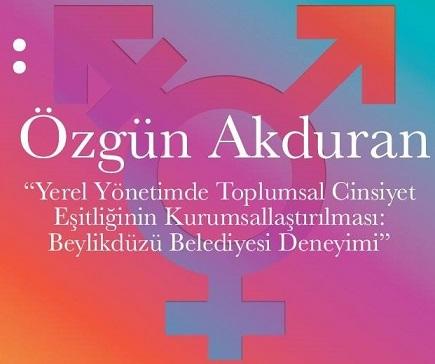 MSGSÜ Şehir ve Bölge Planlama Bölümü Çarşamba Seminerleri – Özgün Akduran 'Yerel Yönetimde Toplumsal Cinsiyet Eşitliğini Kurumsallaştırmak'