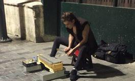 İstiklal Caddesi'nde bir sokak müzisyeni: 'Andrey Markov'