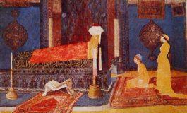 """Osman Hamdi Bey'in """"Türbe Ziyaretinde İki Genç Kız"""" eseri - Aysu Altaş yazdı..."""