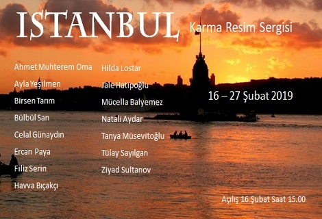 Venüs Sanat Galerisi Karma Resim Sergisi – 'İstanbul'