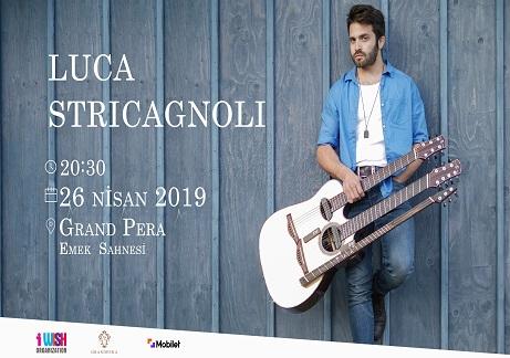 Grand Pera Emek Sahnesi Konser – 'Luca Stricagnoli'