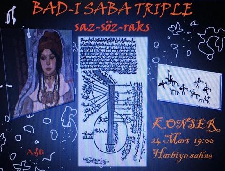 'BAD-I SABA TRIPLE' ile geleneksel müzikte yepyeni bir deneme!