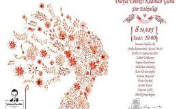Sabahattin Ali Kültür Merkezi - 8 Mart Dünya Emekçi Kadınlar Günü Şiir Etkinliği