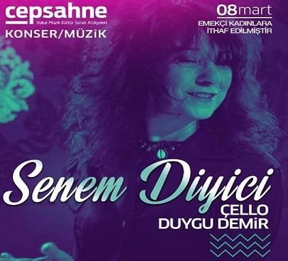 Cep Sahne Türk Etnik Caz Performansı – Senem Diyici ve Duygu Demir(Çello)