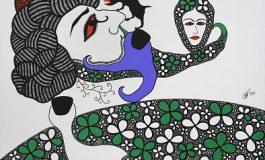 """Galeri 77 Resim Sergisi - Özgür Demirci """"Baharistan / Baharestan"""""""