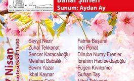 Sabahattin Ali Kültür Merkezi ve Cemal Süreya Kültür Sanat Derneği - 'BAHAR ŞİİRLERİ'