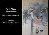 """Galeri İdil Resim Sergisi - Faruk Cimok """"İstanbul Resimleri"""""""