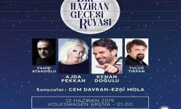 Türkiye Eğitim Gönüllüleri Vakfı yararına 'Bir Haziran Gecesi Rüyası' Konseri