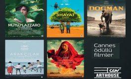 Ödüllü Cannes Filmleri yeniden sinema tutkunlarıyla buluşuyor!