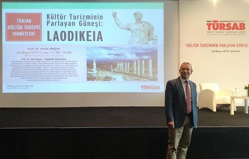Anadolu insanının kurduğu şehir 'LAODIKEIA' konuşuldu!