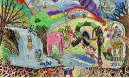 38. Uluslararası Pınar Çocuk Resim Yarışması'nda çocuklar hayallerini çizdi