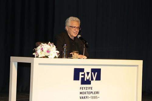 FMV Işık Okulları, Zülfü Livaneli'nin konferansına ev sahipliği yaptı