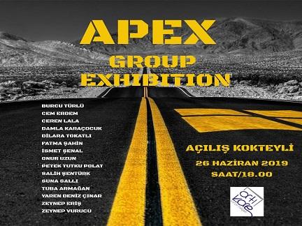 ArtıKare Sanat Merkezi Grup Sergisi – 'APEX'