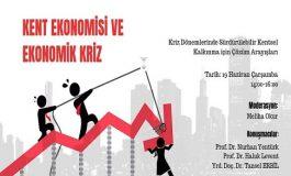 TMMOB Mimarlar Odası Karaköy Şubesi Panel - 'Kent Ekonomisi ve Ekonomik Kriz'