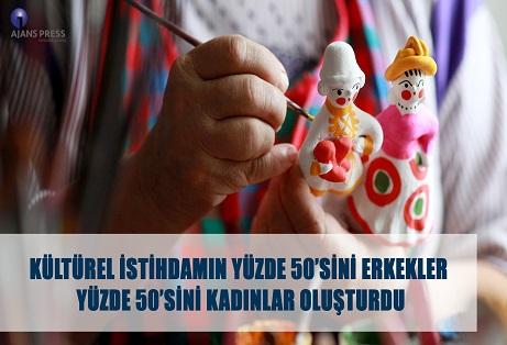 KÜLTÜREL İSTİHDAMDA KADIN-ERKEK EŞİTLİĞİ!