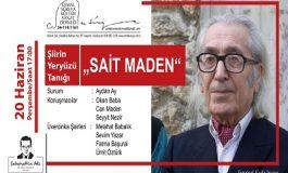 """Sabahattin Ali Kültür Merkezi Altıntepe Konuşma - Şiirin Yeryüzü Tanığı """"SAİT MADEN"""""""