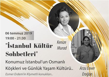 Ögliv Çengelköy Sarı Köşk İstanbul Kültür Sohbetleri
