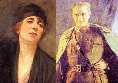 Mustafa Kemal'in Mihri Müşfik Hanım'a verdiği poz – Aysu Altaş yazdı…