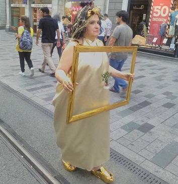 'Kaz Dağları' için İstiklal Caddesi'ne çıktı!
