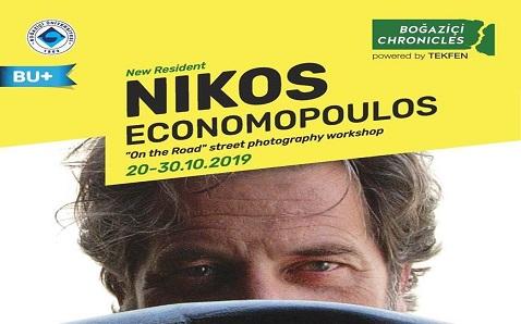 Dünyaca ünlü fotoğrafçı Nikos Economopoulos Boğaziçi'ne geliyor