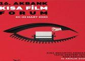 Akbank Kısa Film Festivali Senaryolarınızı Bekliyor
