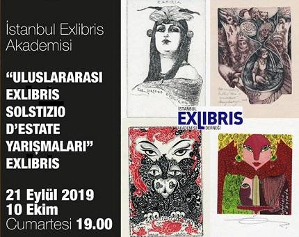 Dibeklihan Kültür ve Sanat Köyü – Uluslararası Exlibris Solstizio D'estate Yarışması Sergisi