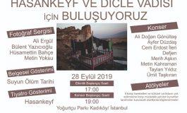 Kadıköy Yoğurtçu Parkı - Hasankeyf ve Dicle Vadisi için etkinlikler