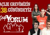"""Açlık grevindeki """"Grup Yorum"""" üyelerinden 5 talep"""