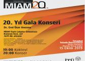 İTÜ MİAM 20. Yıl Gala Konseri