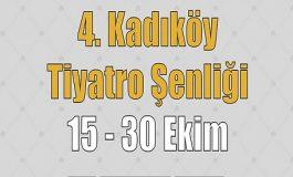 """4. Kadıköy Tiyatro Şenliği  """"Enis Fosforoğlu Anısına"""""""