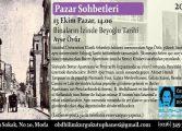 Özgen Berkol Doğan Bilimkurgu Kütüphanesi Pazar Sohbetleri – Ayşe Övür 'Binaların İzinde Beyoğlu Tarihi'