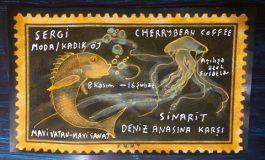 """Cherrybean Coffee Resim Sergisi – Bülent Bakan """"Sinarit Denizanasına Karşı"""""""