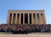 Türkan Saylan'ın Öğrencileri Anıtkabir'de