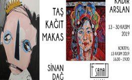 F Sanat Galerisi İkili Sergi - 'Taş, Kağıt, Makas'