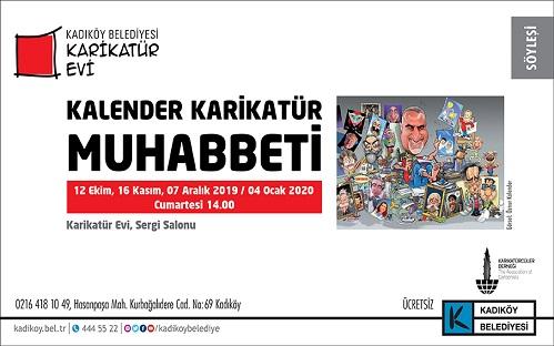 """Kadıköy Belediyesi Karikatür Evi, İlyas Salman ile """"Kalender Karikatür Muhabbeti"""""""