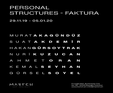 """Martch Art Project Sergi – """"Personal Structures – Faktura"""""""