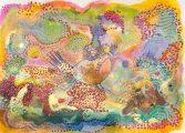 """IMOGA ART SPACE Resim Sergisi - Merve Turan """"İçimde Bir His Var"""""""