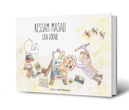 """Bozlu Art Project Mongeri Binası, Can Göknil – Kitap Tanıtımı ve Sergi Açılışı """"Ressam Masalı"""""""