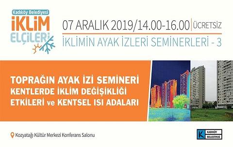 Photo of İKLİMİN AYAK İZLERİ SEMİNERLERİ – 3