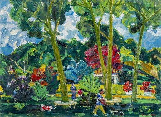 """Galeri İdil Resim Sergisi – Resul Aytemür """"Kırmızı ve Yeşil"""""""