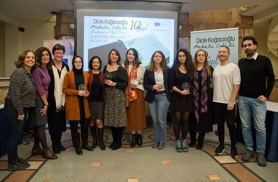 Dicle Koğacıoğlu Makale Ödülleri 10. kez sahiplerini buldu!