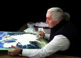 Ressam Canip Taşkıransuluboya sergisi ile Bornova'da...