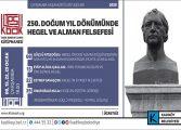 ALMAN FİLOZOF HEGEL 250 YAŞINDA