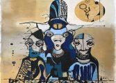 Goba Art&Design Resim Sergisi - Oğuz Yalım 'Koca Kafalar'