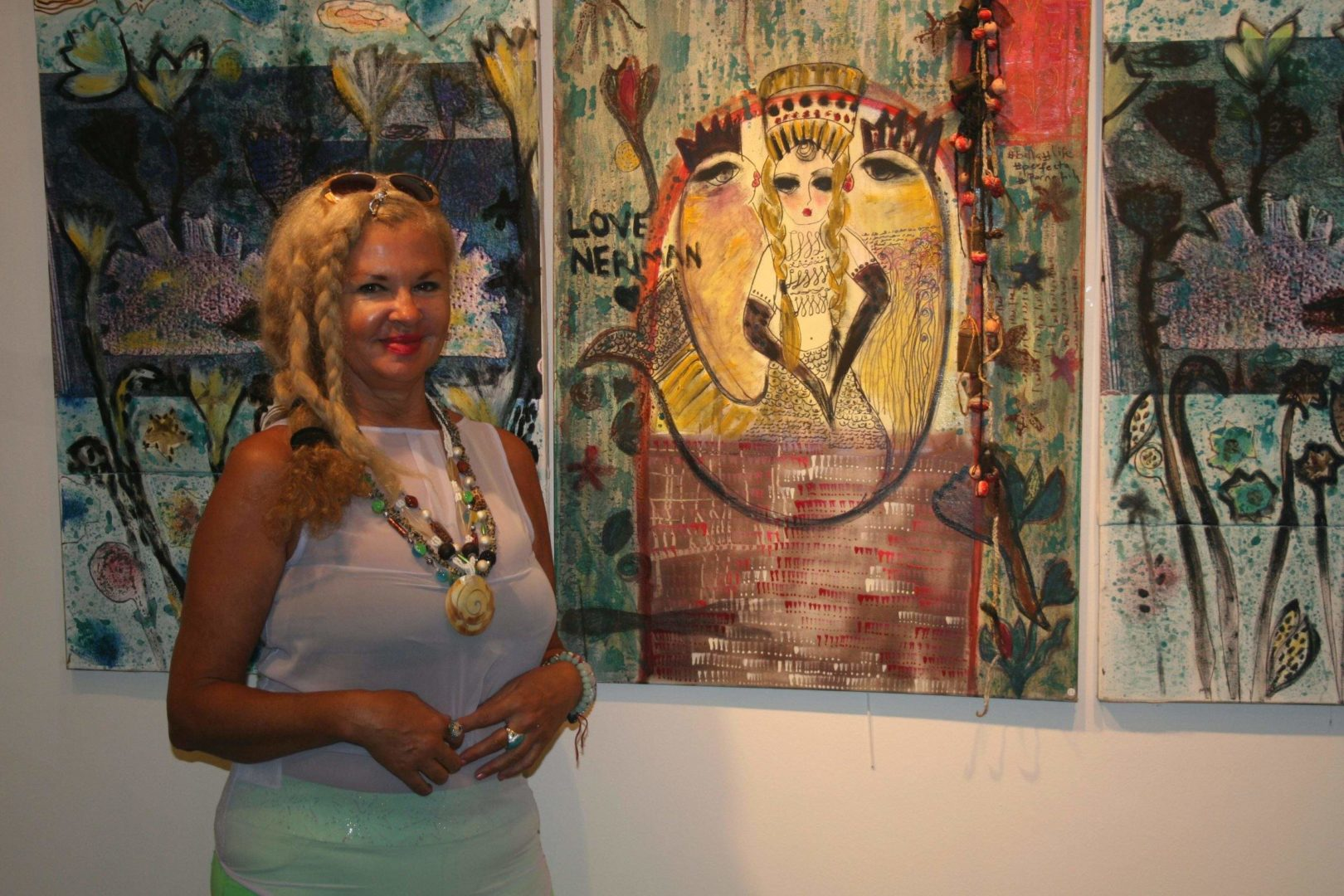 Photo of Ressam Nihal Güres ile Sanattan Sevgiye..