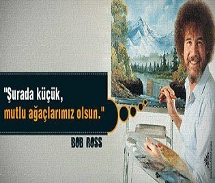 Photo of Ressam Bob Ross'un İlk Programı!