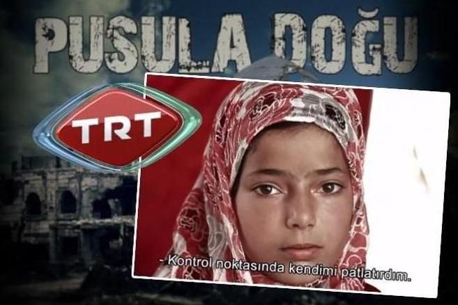 TRT'de 'Canlı Bombacı Çocuk' Belgeseli!