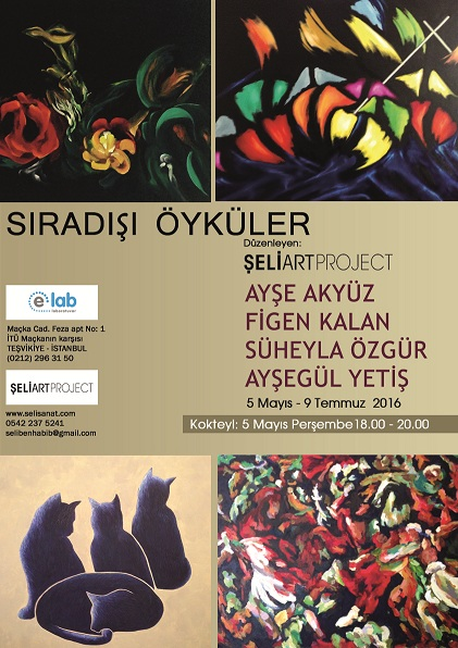 Photo of Şeli Art Project Resim Sergisi & 'SIRADIŞI ÖYKÜLER'