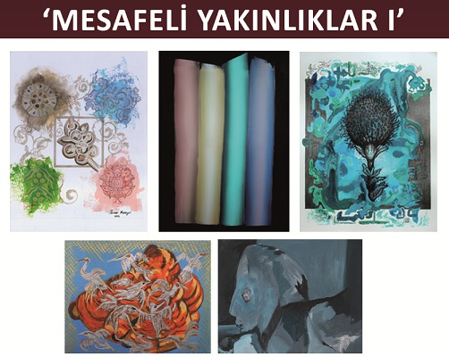 Photo of Şeli Art Project Resim Sergisi & 'MESAFELİ YAKINLIKLAR 1'